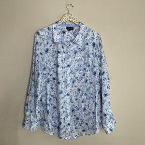 Lane Bryant Floral Blouse | Size 24